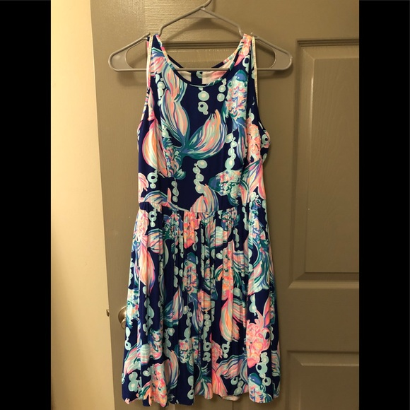 """8bc10be0f5d173 Lilly Pulitzer Dresses & Skirts - SIZE 6 LILLY PULITZER """"GOING COASTAL""""  KASSIA"""